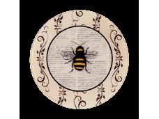 """Ashdene Podstawka szklana 13745 """"pszczółki"""""""