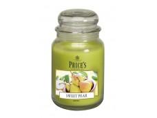 Price's Candles zapachowa świeca w dużym słoiku - SWEET PEAR