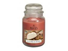 Price's Candles zapachowa świeca w dużym słoiku - SUGAR & ALMOND