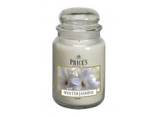 Price's Candles zapachowa świeca w dużym słoiku - WINTER JASMINE