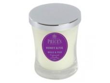 Price's Candles zapachowa świeca w słoiczku - średnia HONEY & FIG