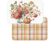 Cala Home Podkładki na stół dwustronne C174-00062 Autumn