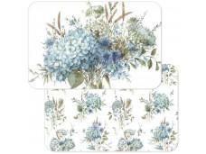 Cala Home Podkładki na stół dwustronne C174-00063 Bohemian Blue