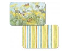 "Cala Home Podkładki na stół dwustronne C49683 ""butterflies"""