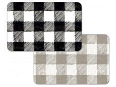 "Cala Home Podkładki na stół dwustronne C174-00022 ""black - taupe"""