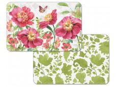 "Cala Home Podkładki na stół dwustronne C174-00038 ""Pink garden"""