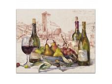 """Cala Home Podkładka szklana 22-01220 """"Wine Tableau"""" 25/20cm"""