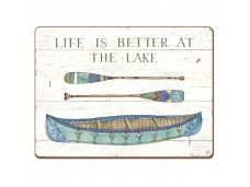"""Cala Home Podkładki korkowe 81748 """"lake sketches"""""""