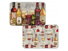 """Cala Home Podkładki na stół dwustronne C49549 """"Wine Time"""""""