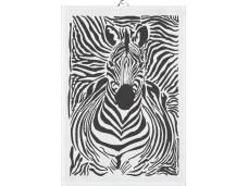"""Ekelund ręcznik do rąk tkany 35x50 cm """"Zebra"""" EK67853"""