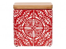 Ladelle Arise Red wzór 3 pojemnik do przechowywania żywności L61821