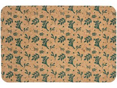Ladelle Dwell komplet podkładek korkowych na stół 4 sztuki Emerald L49364