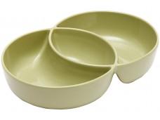 Ladelle Loop Serving Bowl miseczka groszkowa zieleń 2-częściowa L61393