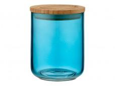 Ladelle Stak Glass Ocean Teal pojemnik do przechowywania żywności 13 cm L61354