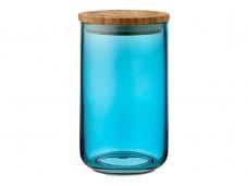 Ladelle Stak Glass Ocean Teal pojemnik do przechowywania żywności 17 cm L61355