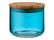 Ladelle Stak Glass Ocean Teal pojemnik do przechowywania żywności 9 cm L61353