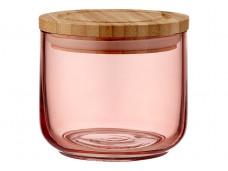 Ladelle Stak Glass Peach pojemnik do przechowywania żywności 9 cm L61432