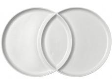 Ladelle Loop Serving Platter talerz biały 2-częściowy  L61379