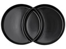 Ladelle Loop Serving Platter talerz Charcoal 2-częściowy  L61382