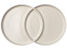Ladelle Loop Serving Platter talerz waniliowy 2-częściowy  L61388