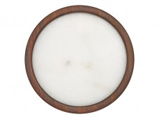 Ladelle Buckley White podstawka na stół - marmur i drewno akacjowe L896366
