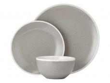 Ladelle Geva Grey Speckle 12- częściowy komplet obiadowy L61760