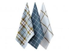 Ladelle Clara komplet trzech ręczników kuchennych L32829