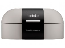 Ladelle Classic Soft Matt Stone stalowy pojemnik na chleb L80014