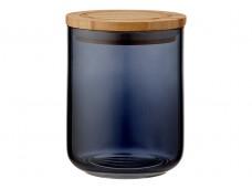 Ladelle Stak Glass Midnight pojemnik do przechowywania artykułów spożywczych 13 cm L61348
