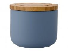 Ladelle Stak Soft Matt Dusky Blue pojemnik do przechowywania artykułów spożywczych 9 cm L61086