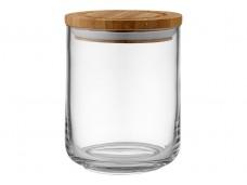 Ladelle Stak Glass Clear pojemnik do przechowywania artykułów spożywczych 13 cm L61345