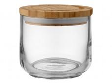 Ladelle Stak Glass Clear pojemnik do przechowywania artykułów spożywczych 9 cm L61344