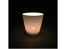 Laura Ashley porcelanowa latarenka do tealightów W179708 I Don't