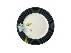 Laura Ashley Heritage 20cm talerz porcelanowy W180449 Midnight Candy