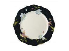 Laura Ashley Heritage 24,5 nieregularny talerz porcelanowy W180452 Midnight Uni