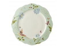 Laura Ashley Heritage 24,5 nieregularny talerz porcelanowy W180454 Mint Uni