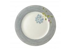 Laura Ashley Heritage 26cm talerz porcelanowy W180457 Midnight Pinstripe