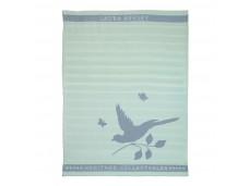 Laura Ashley Heritage ręcznik kuchenny W180800 Mint Bird
