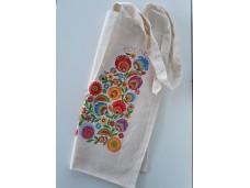 Łowicz torba bawełniana kolor naturalny