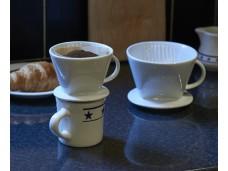Dripper porcelanowy do kawy i herbaty Aerolatte - 4