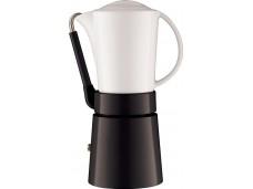Kawiarka z porcelanowym dzbankiem Aerolatte czarna