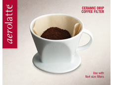 Driper porcelanowy do kawy i herbaty Aerolatte - 4