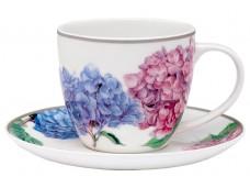 """Ashdene Filiżanka porcelanowa 17182 """"pastelowe hortensje"""""""