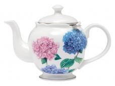 """Ashdene Dzbanek porcelanowy do herbaty 17184 """"pastelowe hortensje"""""""