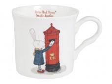 "Ashdene Kubek porcelanowy 17002 ""Ruby Red Shoes London Post"""