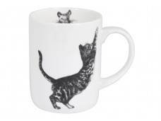 "Ashdene Kubek porcelanowy 17025 ""Casual Cats - Scratching"""