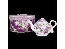 """Ashdene Dzbanek porcelanowy do herbaty 16591 """"ciemna róża"""""""