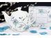 """Ashdene Dzbanek porcelanowy z zaparzaczem do herbaty 16423 """"kwitnący kwiat"""""""