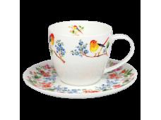 """Ashdene Filiżanki porcelanowe do herbaty 16134 """"drzewko życia"""""""
