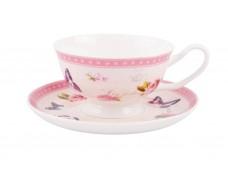 """Ashdene Filiżanki porcelanowe do herbaty 16255 """"stary ogród"""""""